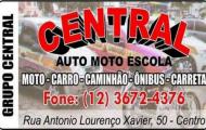 Central -Auto Moto Escola - Formando condutores com qualidade - (12) 3672-4376