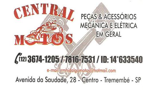Central Motos Peças - (12) 3674-1205 / 7816-7531 / ID:14*633540
