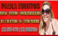 Paula Eventos - Salão de Festas - (12) 3672-2776