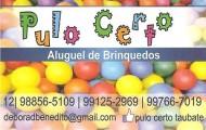 PULO CERTO - ALUGUEL DE BRINQUEDOS -   (12) 3424-6227/(12) 99125-2969/(12) 98856-5109/(12) 99766-7019
