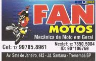 Fan Motos - Mecânica de Motos em Geral - (12) 99785.8961/ (12) 97850