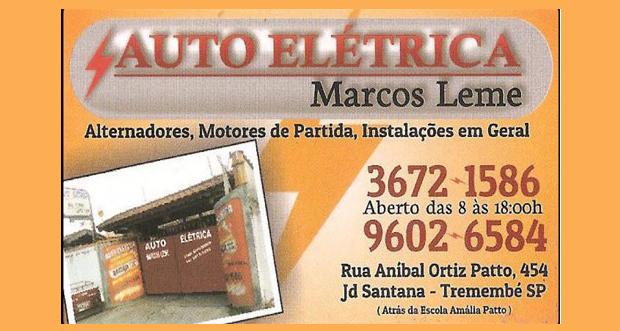 Auto Elétrica Marcos Leme - (12) 3672-1586 / (12) 99602-6584