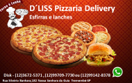 D´liss Pizzaria Delivery - Esfihas e Lanches - 3672-5371