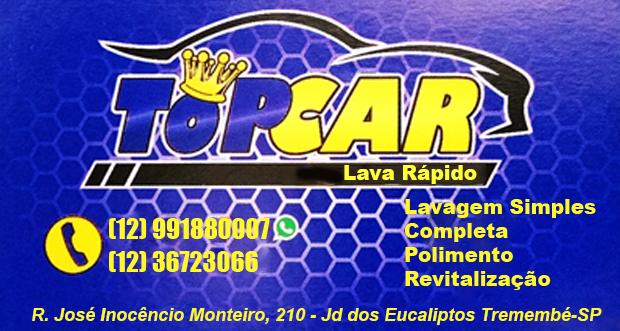 Lava Rápido Top Car Tremembé - (12) 99188-0007