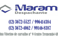 Maram Despachante Tremembé-SP - (12) 3672-5527 / 996414384