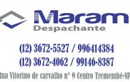 Maram Despachante Tremembé-SP - (12) 3672-5527 / 996414384