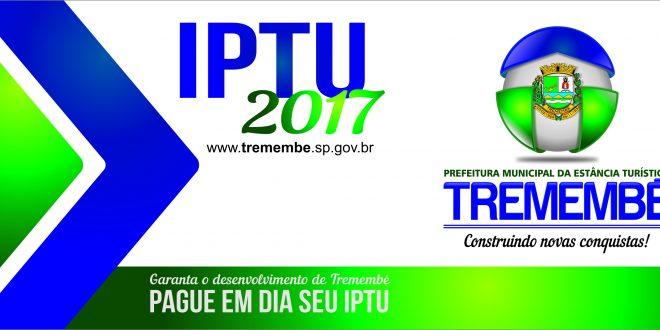 IPTU 2017 Carns Sero Entregues A Partir Do Dia 01 De Maro