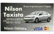 Nilson Taxista Tremembé - (12) 99763-0369