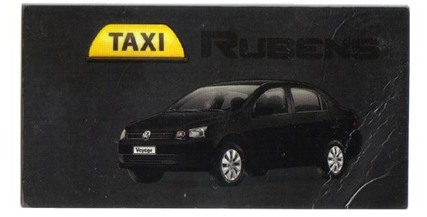 Rubens Taxista - 12 992129019
