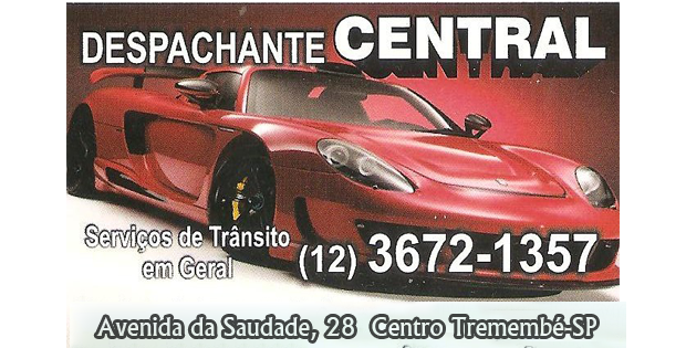 Despachante Central - (12) 3672-1357